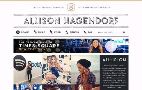 Allison Hagendorf Web Design