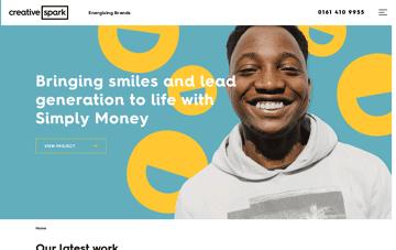 Creative Spark Website Design Web Design
