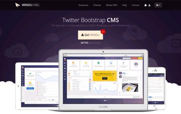 Windu - CMS for Twitter Bootstrap Web Design