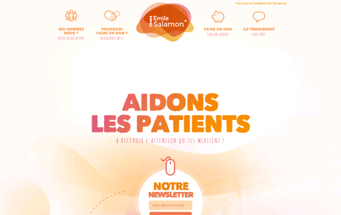 Fonds Salamon Web Design