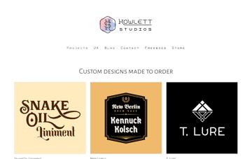 Howlett Studios Web Design