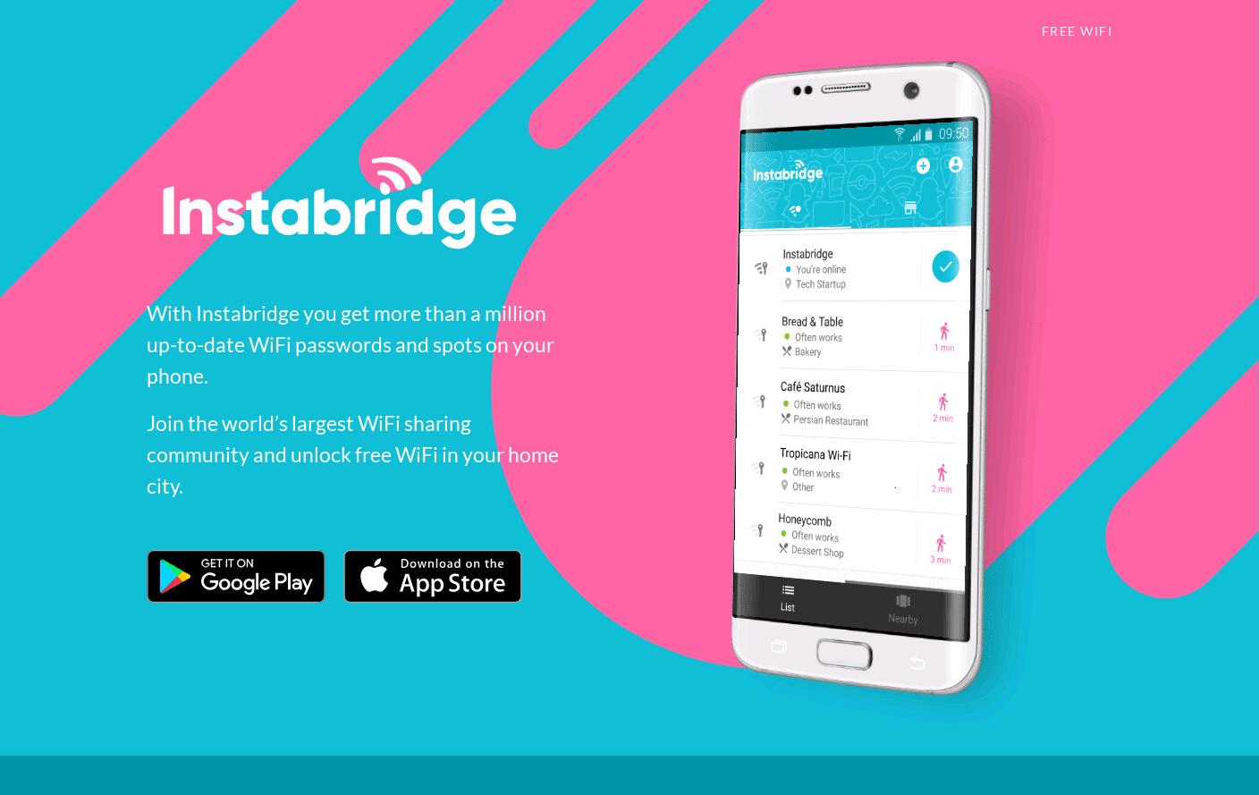 Instabridge App
