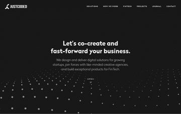 JustCoded – Web Development Company Web Design