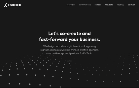 JustCoded – Web Development Company Web Design