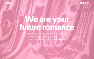 Snask, design agency Web Design