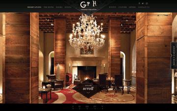 Gramercy Park Hotel New York | A NYC boutique hotel Web Design