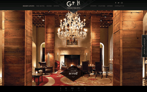 Gramercy Park Hotel New York | A NYC boutique hotel Web Design