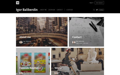 Studiofabrica105 Web Design