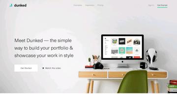 Dunked: Create An Online Portfolio Website Web Design