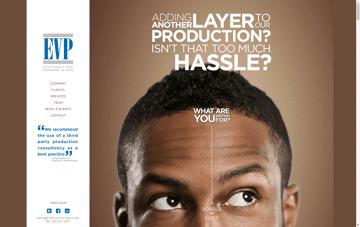 EVP Consulting Web Design