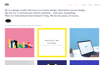 Illo, Design Studio Web Design