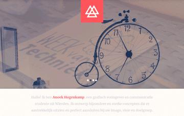 Anoek Hogenkamp Web Design
