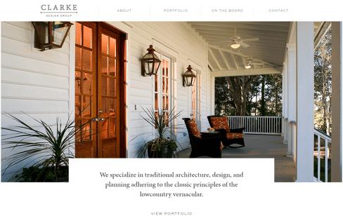 Clarke Design Group  Web Design