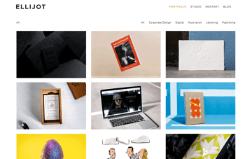 ELLIJOT – Corporate & Brand Design in Nürnberg Web Design
