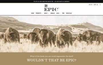 EPIC Bar Web Design