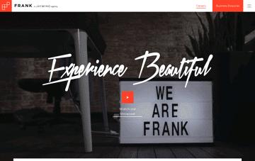 FRANK, Digital Agency Sydney Web Design