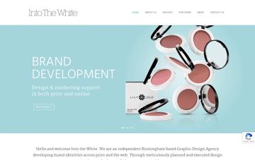 Into The White, design agency Web Design