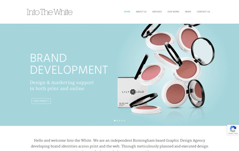 Into The White, design agency Web Design