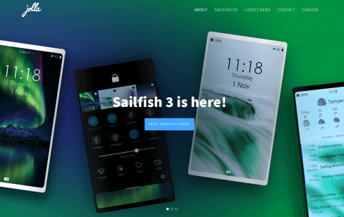 Jolla website Web Design
