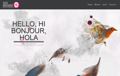 Julien brochard Graphiste  Web Design