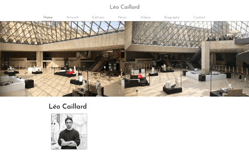 Léo Caillard Web Design