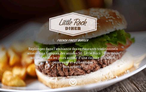 Little Rock Dinner Web Design