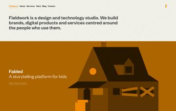 Fieldwork — A Design and Technology Studio Web Design