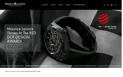 Manufacture Horlogère Suisse | Maurice Lacroix Web Design