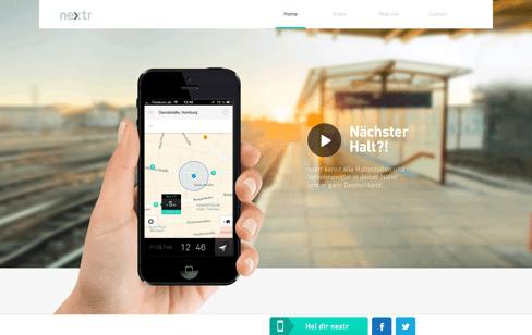 nextr.info Web Design