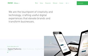 Nurun Website Web Design