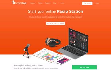 RadioKing, Créer de la vraie radio Web Design