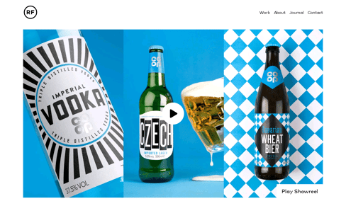 Robot Food | Strategic Brand Design Agency Web Design