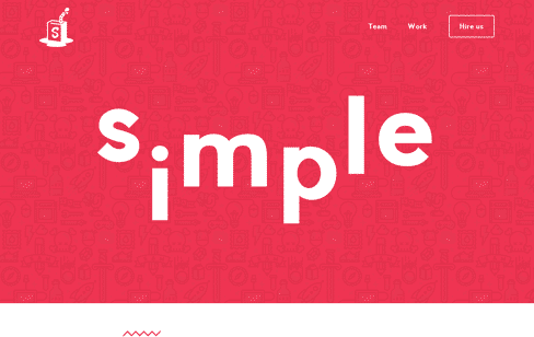 Simple as Milk, communications agency Web Design