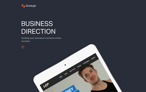 Web Design Sheffield - Strategik are a Full Service Digital Agency Web Design
