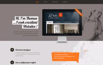 Thomas Flahault : Your Web Designer in Madrid Web Design