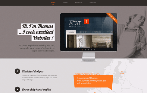 Thomas Flahault : Your Web Designer in Madrid Web Design