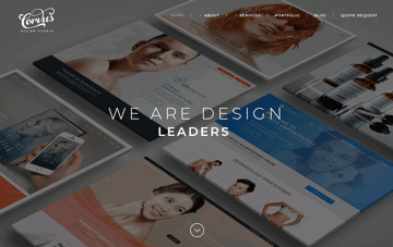 Corvus Design Studio Web Design