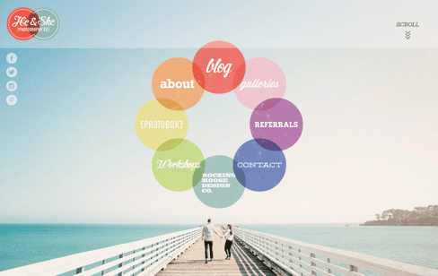 He & She Web Design