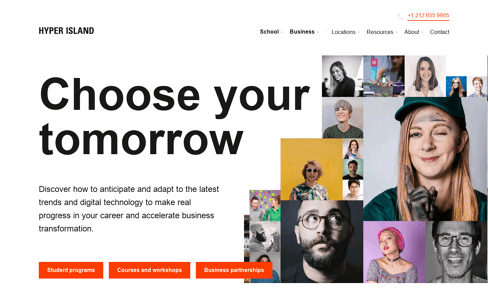 Hyper Island Web Design
