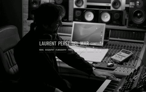 Laurent Perez Del Mar Web Design