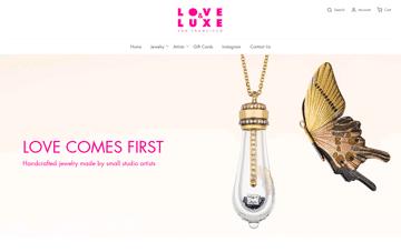 Love & Luxe Web Design