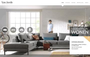 Meubelen Van Aerde Web Design