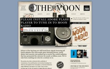 The New York Moon Web Design