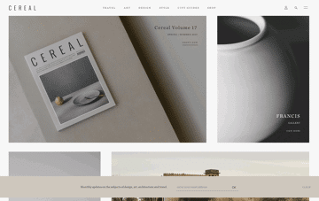 CEREAL Web Design