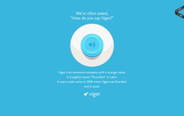 Say Viget Web Design
