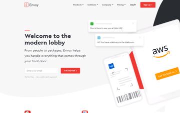 Envoy Software Web Design