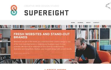 Supereight Studio Web Design