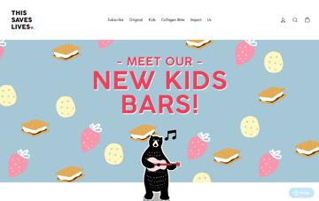 This Bar Saves Lives Web Design