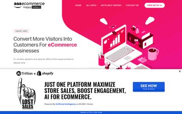 aaae-commerce Web Design