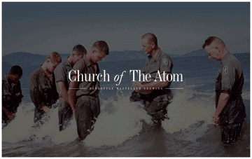 Church of The Atom Web Design